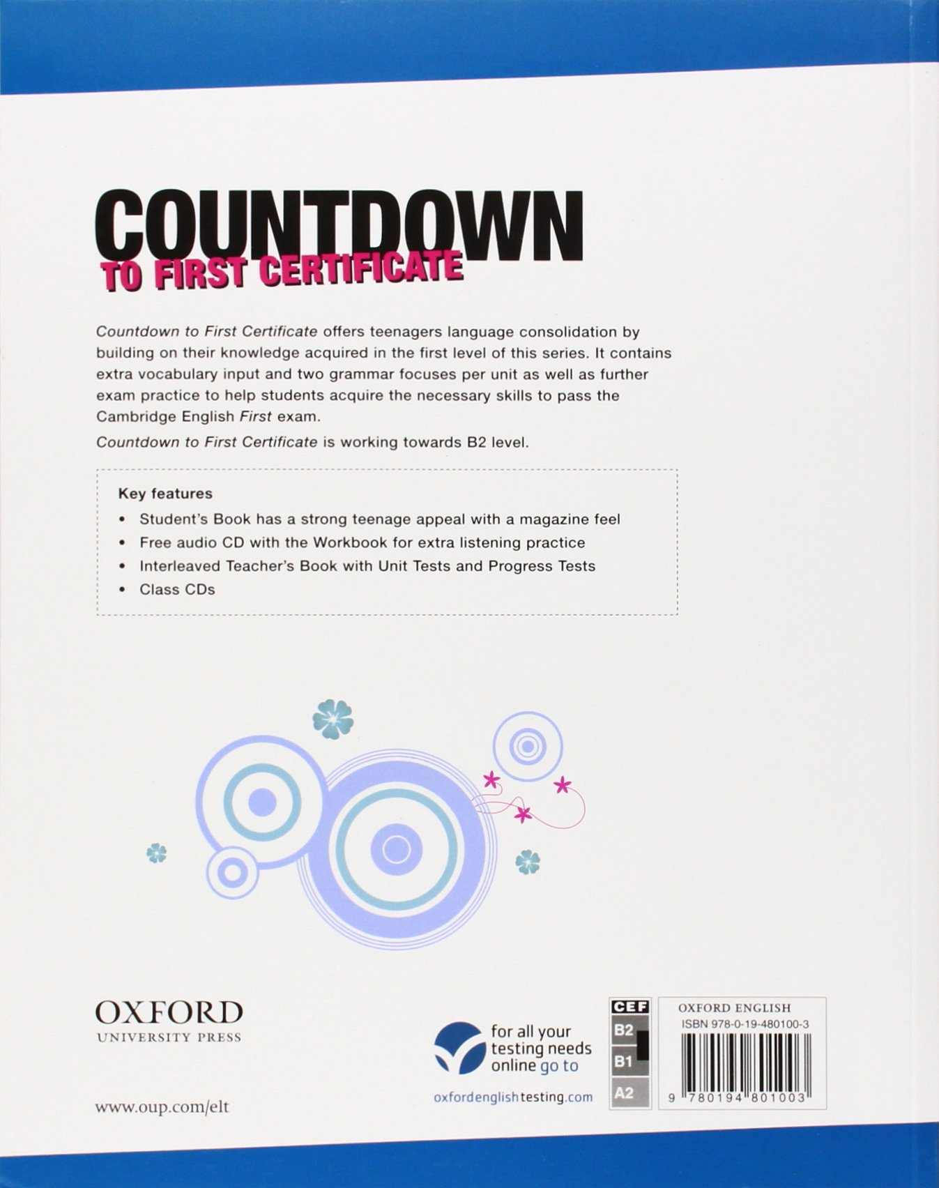 Countdown to first certificate students book michael duckworth countdown to first certificate students book michael duckworth 9780194801003 amazon books yadclub Image collections