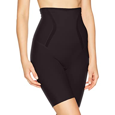 308c9b5b3e9bd Flexees Women s Maidenform Firm Foundations Hi-Waist Thigh Slimmer at  Amazon Women s Clothing store