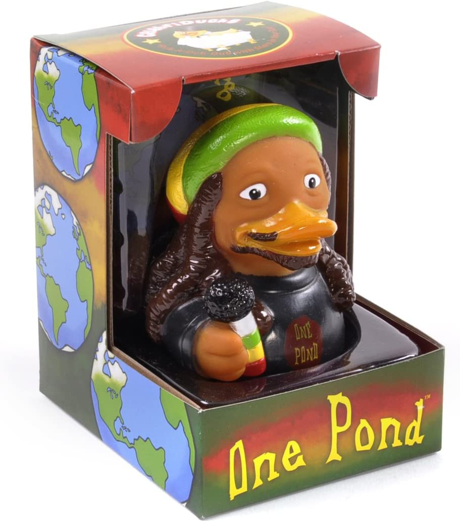 Celebriduck for Bob Marley Fans One Pond Rubber Duck