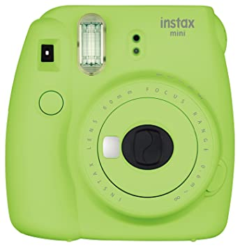 Fujifilm Instax Mini 9 Instant Camera - Lime Green Instant Cameras at amazon