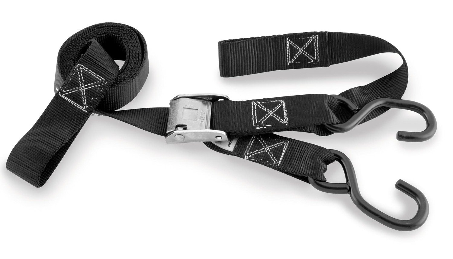 BikeMaster 1-1/2'' Integrated Tiedowns (BLACK)