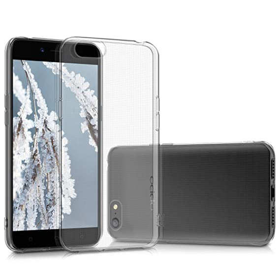 big sale 240f2 7b8d3 Amazon.com: kwmobile Crystal Case for Oppo A71 (2018) - Soft ...