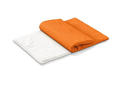 Beurer CLASSICO AT - Almohadilla electrónica, tacto suave, 40 x 28 cm, lavable, color naranja