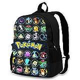 LinsSone Backpack For Boys Girls Kids Youth Schoolbag Mens Womens Bag