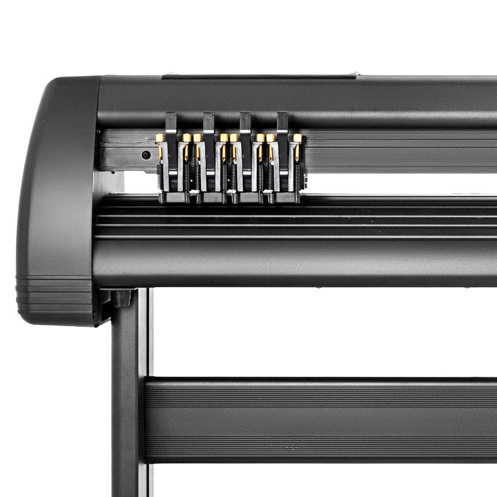 VEVOR Vinyl Cutter 53 inch Plotter Machine 1340mm Paper Feed Vinyl Cutter Plotter Signmaster Software Sign Making Machinewith Stand (53Inch Style 2) by VEVOR (Image #6)