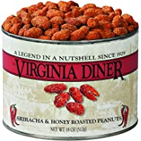 Virginia Diner Sriracha and Honey Roasted Peanuts, 18 Ounce