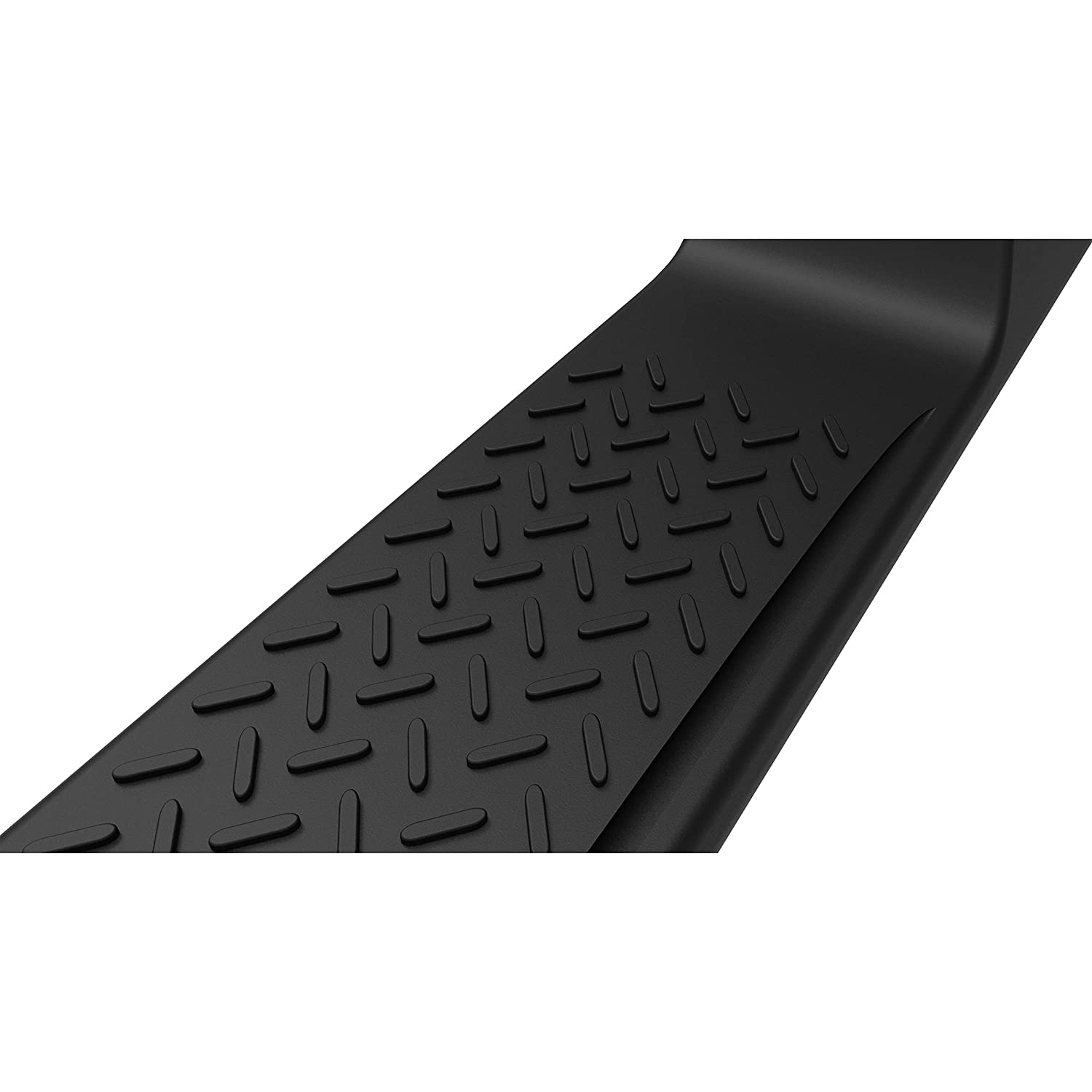 A/&K ABS Running Board for 07-17 Jeep Wrangler JK 4 Doors Side Step Pad OE Factory Style Nerf Bar Accessories for 2007 2008 2009 2000 2010 2011 2012 2013 2014 2015 2016 2017 Jeep JK Sahara Rubicon