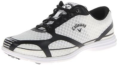 Callaway Women's Solaire Golf Shoe,White/Black,6.5 ...