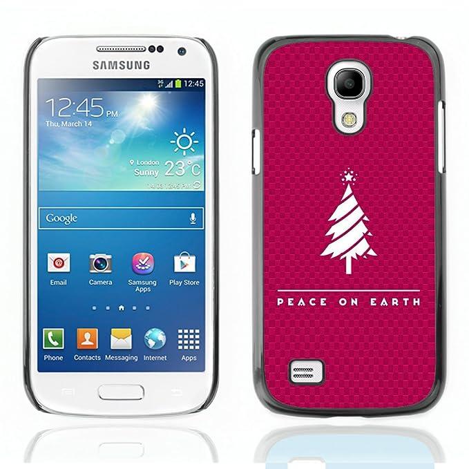 iKiki-Tech Estuche rígido para Samsung Galaxy S4 Mini - paz ...