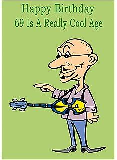 Age 69 Birthday Card