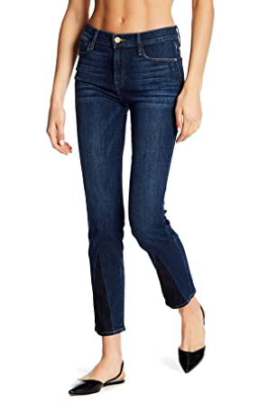 d9c4c81673536 Image Unavailable. Image not available for. Color  Frame Denim Le High  Straight Gusset Jeans For Women In ...