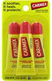 Carmex Original Flavor Moisturizing Lip Balm Tube Value Pack