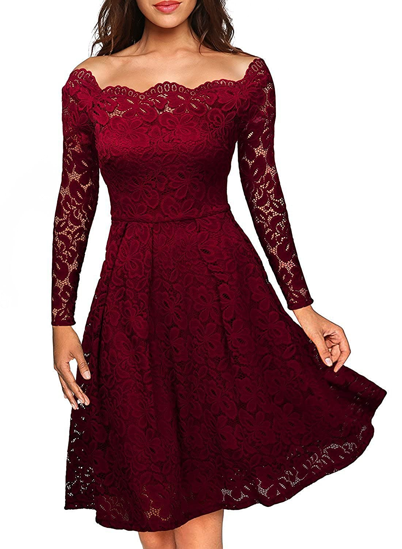 cheap sale delicate colors coupon code Cichic - Robe - Cocktail - Femme - Rouge - 42: Amazon.fr ...