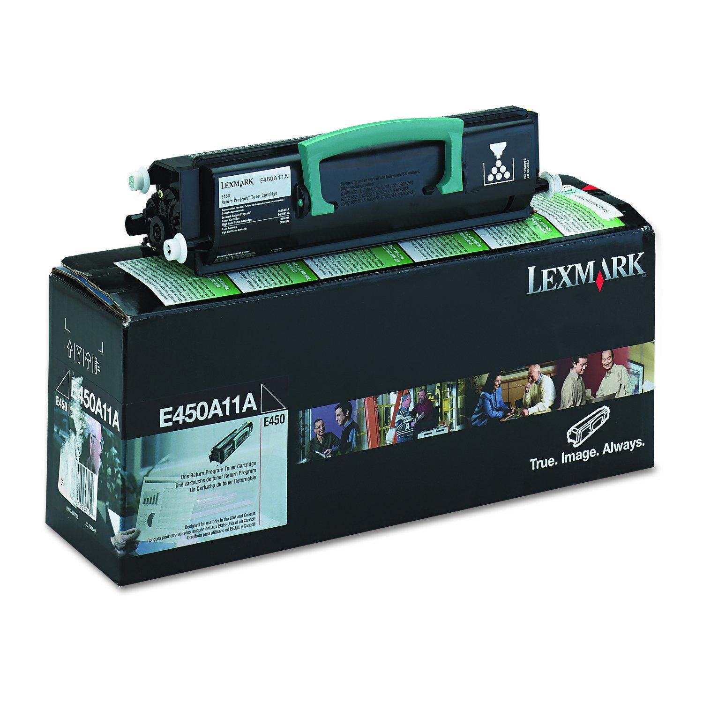 Toner Original LEXMARK E450A11A 6000 Páginas Black