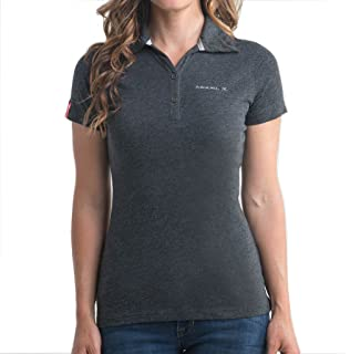 32b281da Pro Celebrity Women's Tesla Polo Shirt at Amazon Women's Clothing store: