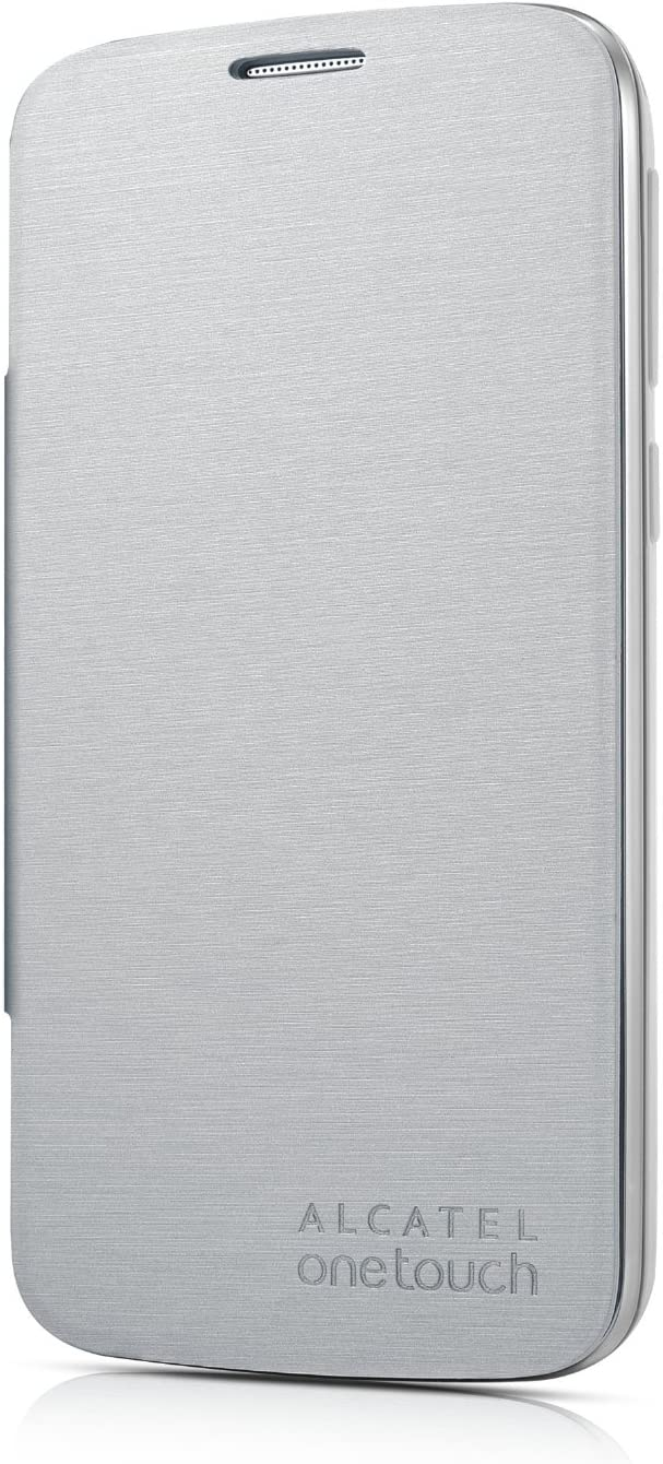 Alcatel One Touch FC7040 - Funda para móvil 7041X/7041D/POP C7/7040D, plateado: Amazon.es: Electrónica