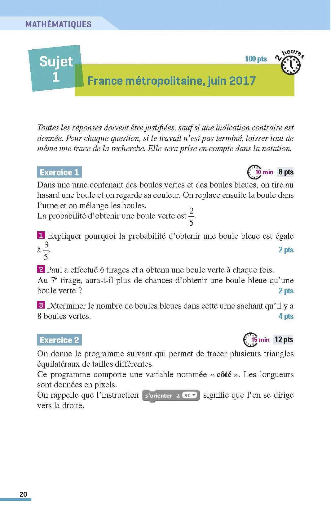 Maxi Annales 3e : 100 sujets corrigés (ABC du brevet): Amazon.es: Collectif, Carole Feugère, Gilles Mora, Nicolas Coppens, Olivier Doerler: Libros en ...