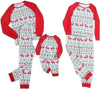 Pijama Camison Unicornio niña Enteros Invierno Mujer Animal Disfraz Unisex Familiares Iguales camisón algodón Talla Grande Bebe Hombre Impresión Santa Claus Muñeco de Nieve: Amazon.es: Ropa y accesorios