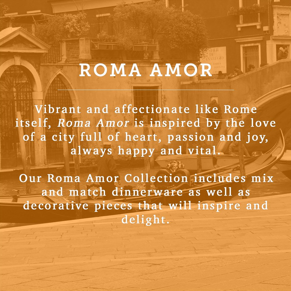 Italian Dinnerware - Canister Set - Handmade in Italy from our Roma Amor Collection by Modigliani