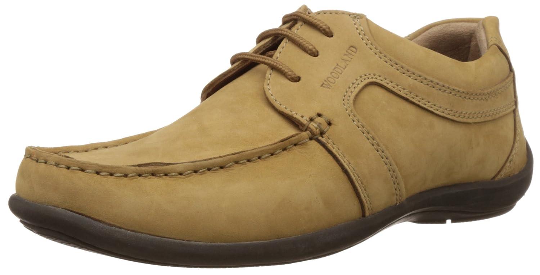 Woodland Men's Leather Espadrille Flats