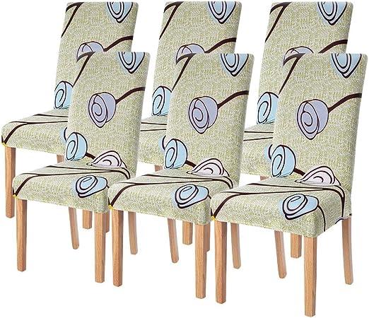 Marrone Lavabile Rimovibile Accessori Decorativi Per La Casa Coprisedie Con Schienale Elasticizzato Universale Copri Sedie Sala Da Pranzo 4 Pezzi Per Soggiorno Hotel Arredamento Ristorante Teachfornigeria Org