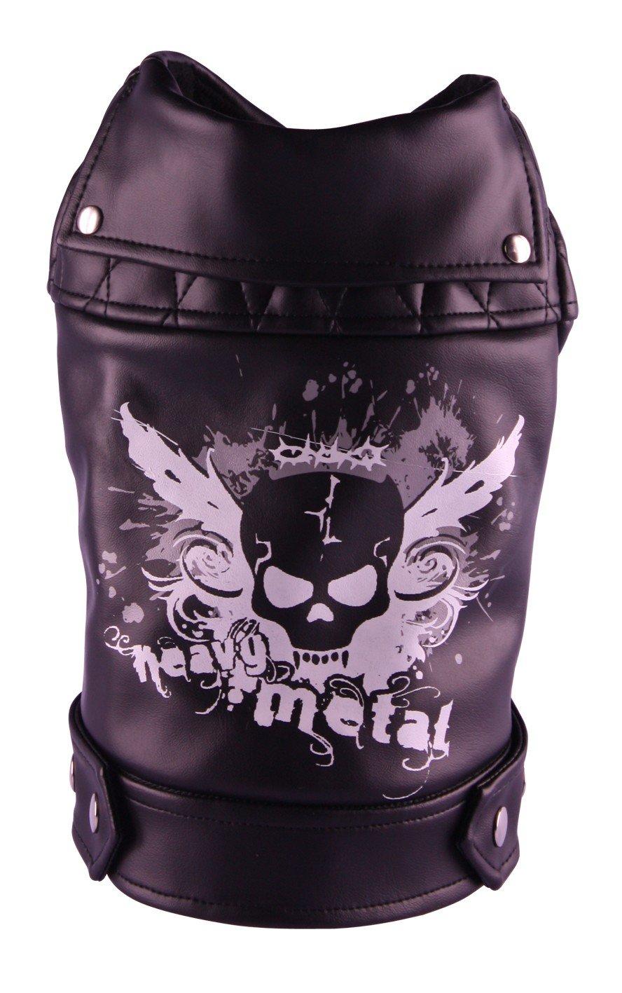 Black scull jacket von Doggydolly