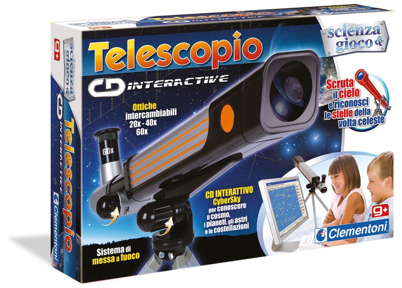 Popolare Clementoni 12710 - Scienza e Gioco, Il Telescopio Cd-Interactive  AU65