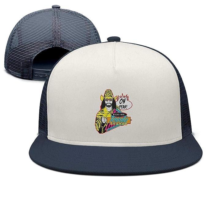 2a1fe17fa623bc Image Unavailable. Image not available for. Color: Baseball Cap Macho-Man- Randy-Savage-oh-Yeah- Cool Snapbacks