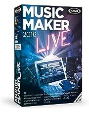 MAGIX Music Maker 2016 Live - Software De Edición De Audio/Música