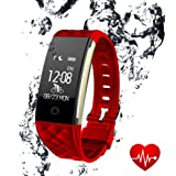 10c176d51f8 Fitness Tracker Activity Monitors Watch - LUXSURE Bracelet Heart Rate Sleep  Health Tracker Step Counter Notification