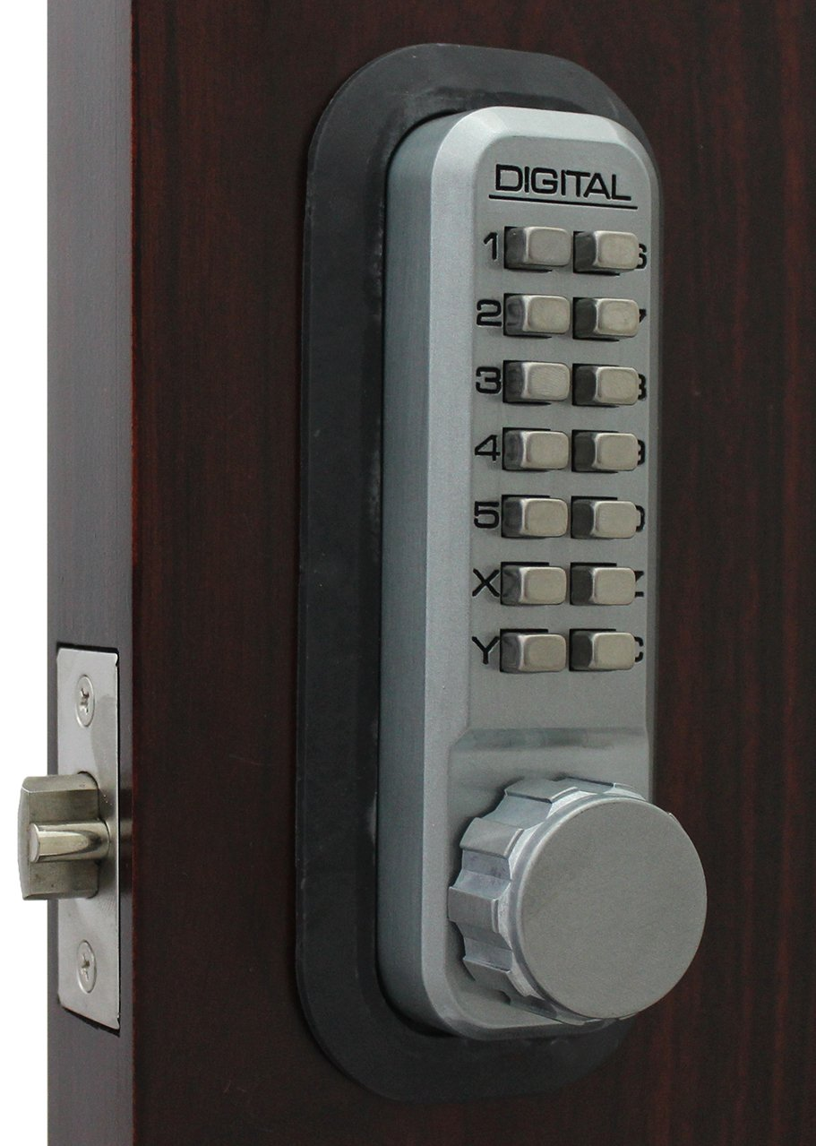 2230SC Mechanical, Keyless Latch Lock by Lockey USA