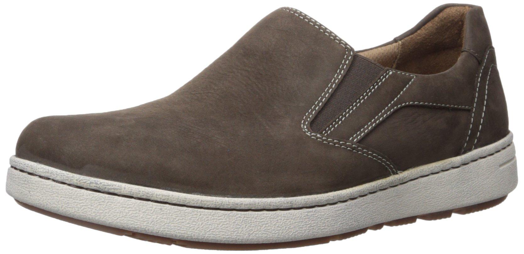Dansko Men's Viktor Fashion Sneaker, Brown Milled Nubuck, 43 (US Men's 9.5-10) Regular