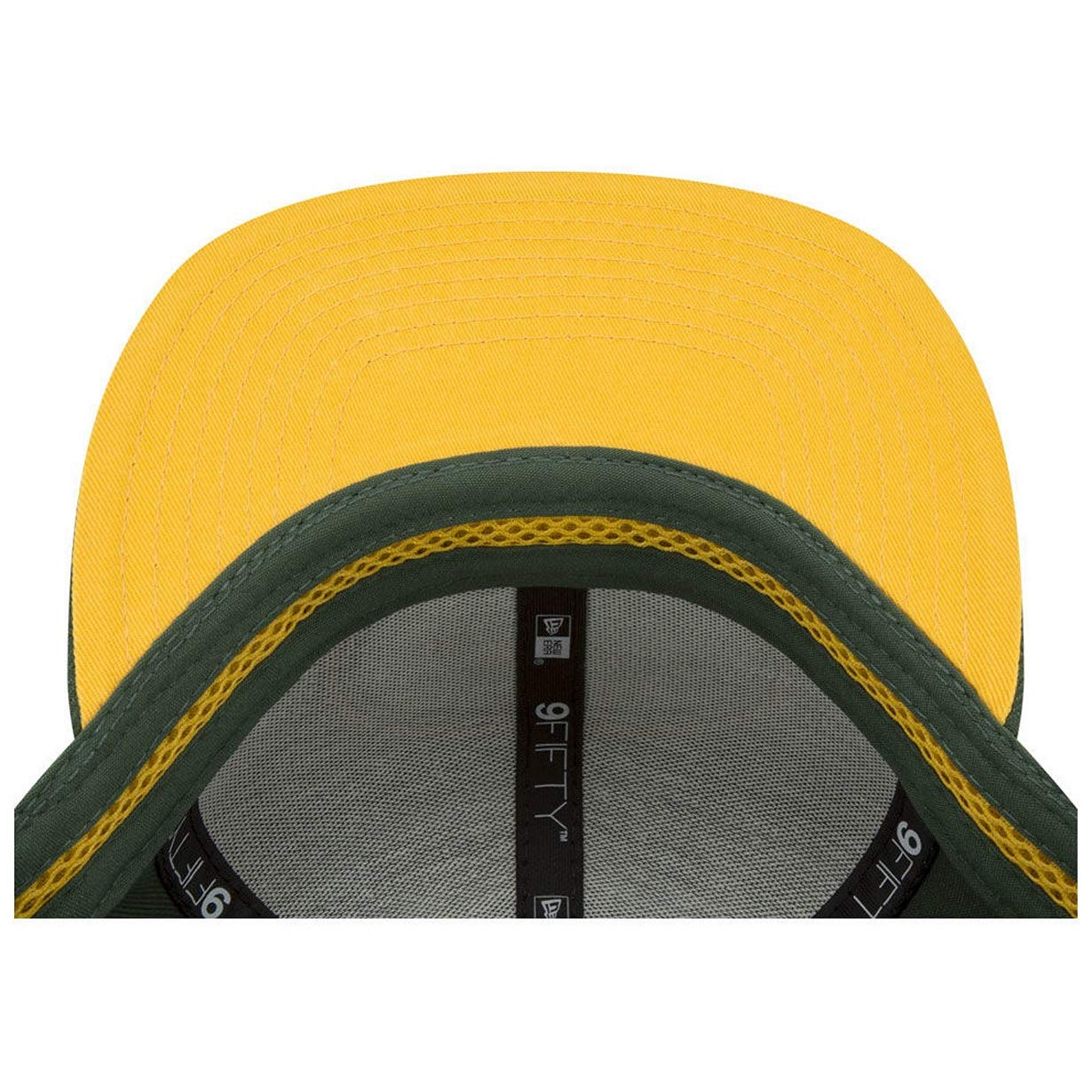 New Era NFL Green Bay Packers 9FIFTY Meshed Mix Snapback Hat Adjustable Green Hat
