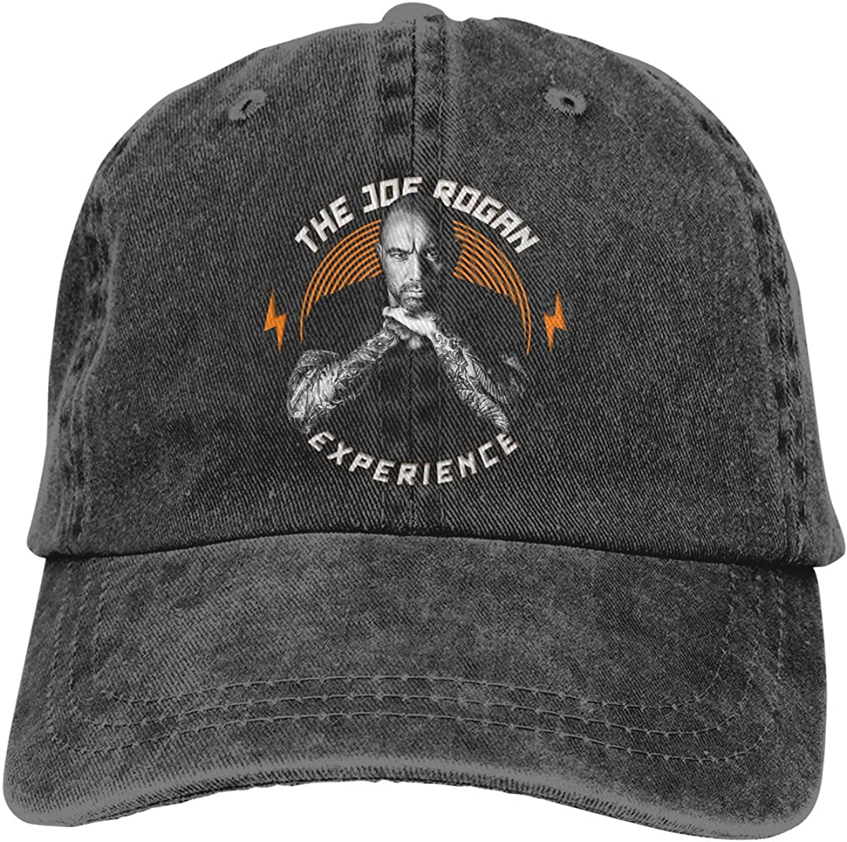 Men and Women 3D Printed Wild The Joe Rogan Experience Cowboy Hat Black