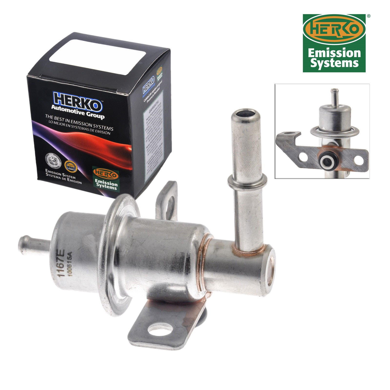 AD Auto Parts New Fuel Pressure Regulator Herko PR4062 for Ford 2000-2005 by AD Auto Parts