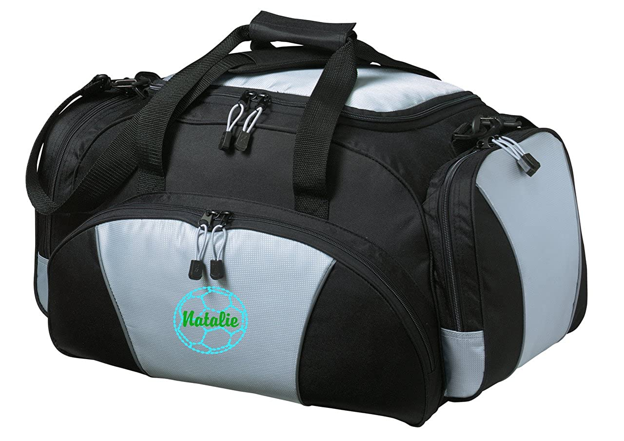 Personalized Soccer Metro Duffel Gym and Travel Bag