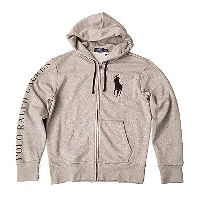 Hoodie Ralph Full Polo Lauren Mens Pony Big Zip Sweatshirt SVpqzUMLG