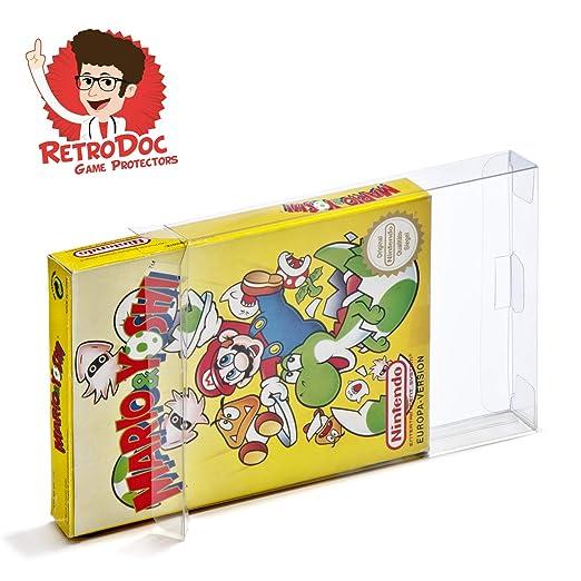 20 Nintendo NES cajas/fundas protectoras para juegos Box