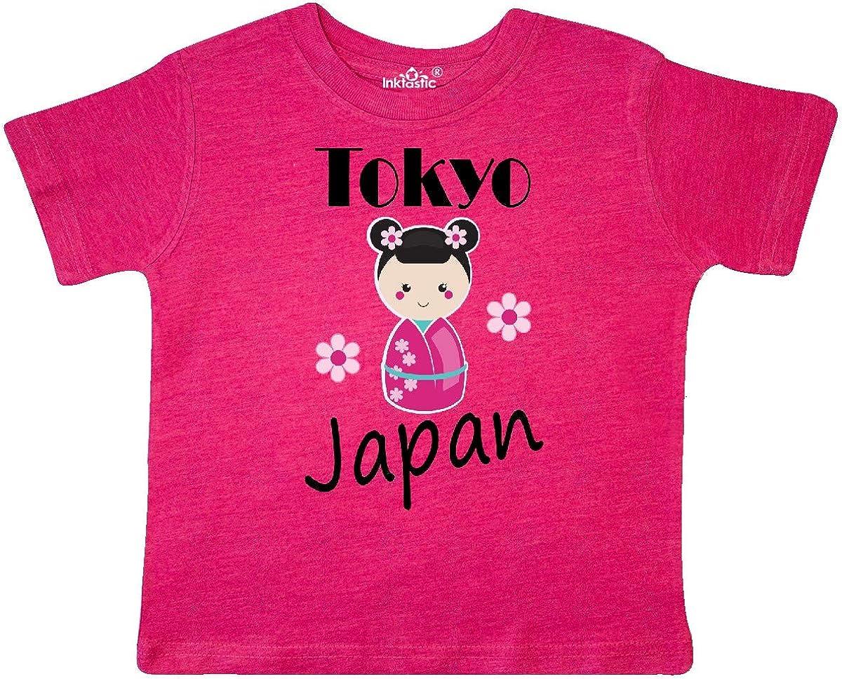inktastic Tokyo Japan Kokeshi Toddler T-Shirt