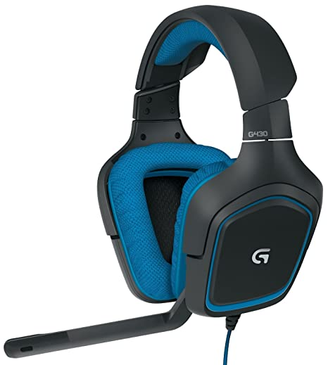 ef529949363 Amazon.com: Logitech G430 Surround Sound Gaming Headset with Dolby 7.1  Technology (Renewed): Electronics
