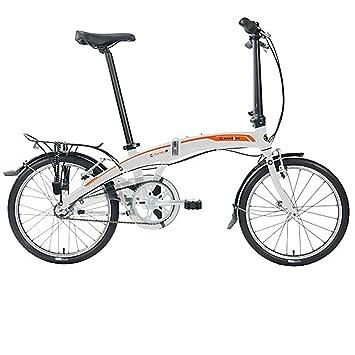 Dahon Faltrad CURVE i3 3 Gang ND Weiß 20 Zoll Klapp Fahrrad Faltrahmen Aluminium Faltbar Uni