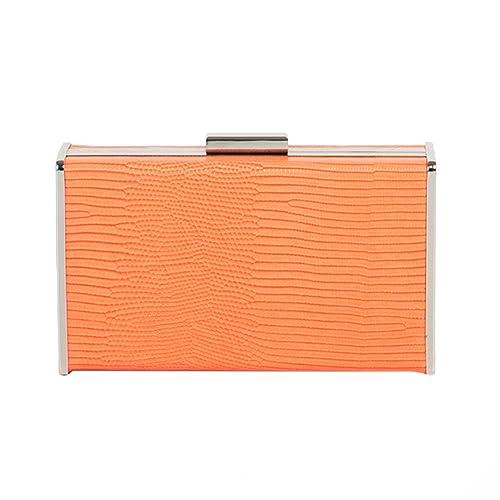 Parfois - Clutch - Bolso De Fiesta Window - Mujeres - Tallas M - Naranja: Amazon.es: Zapatos y complementos
