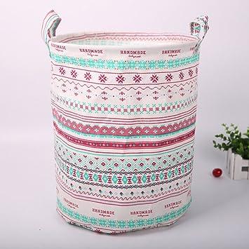 Vestir ropa cesta cesta de la ropa plegable cesta de la ropa plegable IKEA juguete ropa de almacenamiento de la caja de lavandería canasta cesta,re: ...