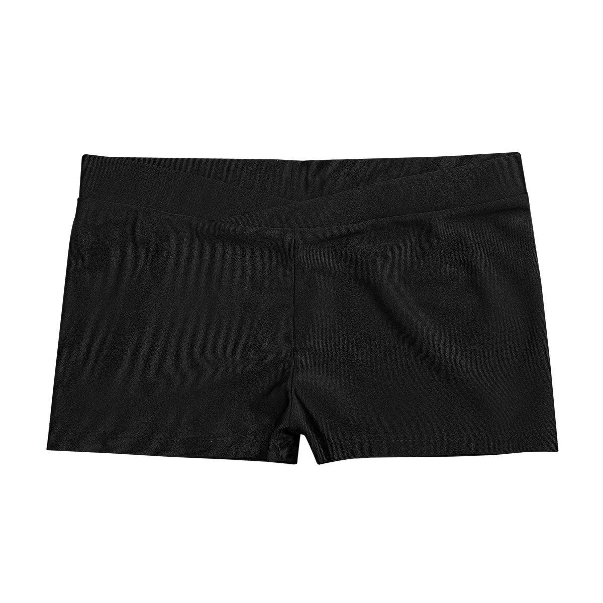 iEFiEL SHORTS ガールズ B07DFFQ2HM 10/12|Black V-front Black V-front 43750
