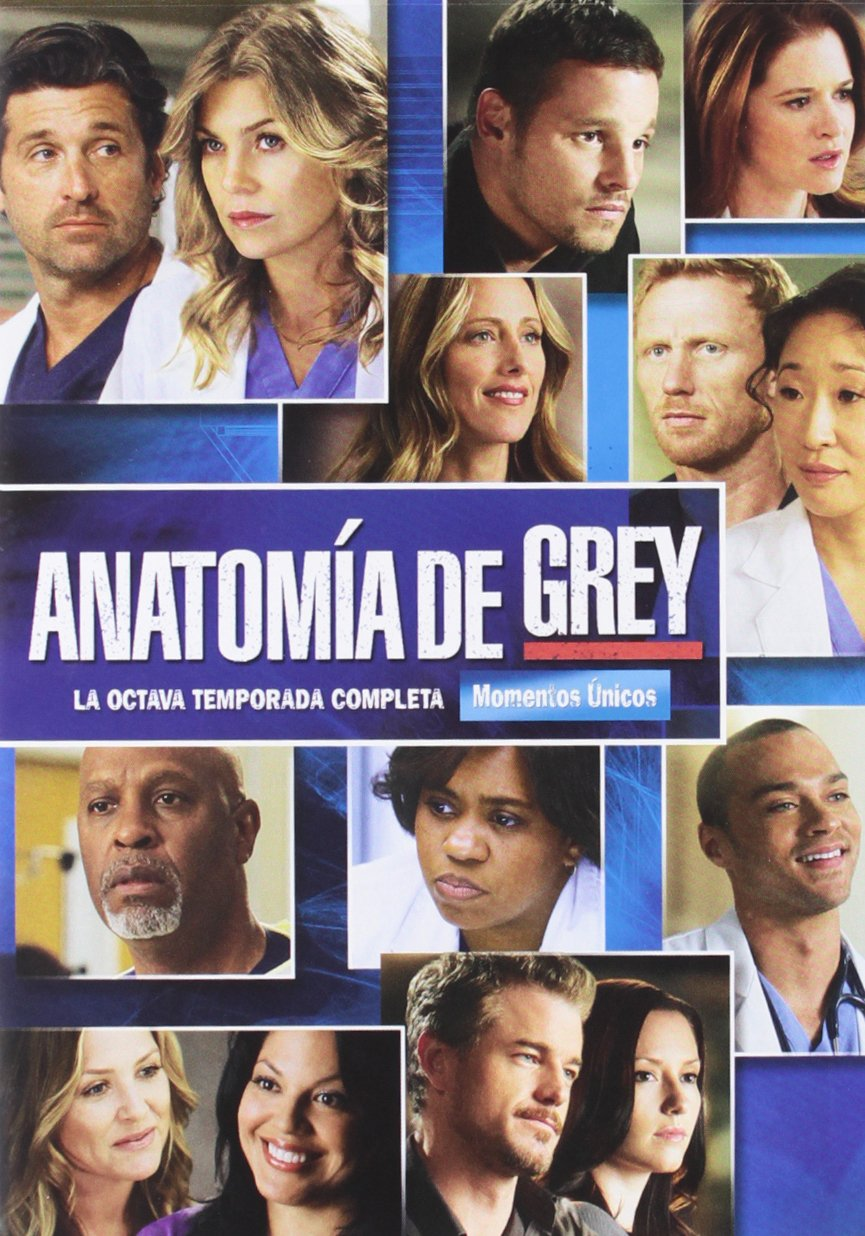 Anatomia De Grey - Temporada 8 [DVD]: Amazon.es: Ellen Pompeo ...