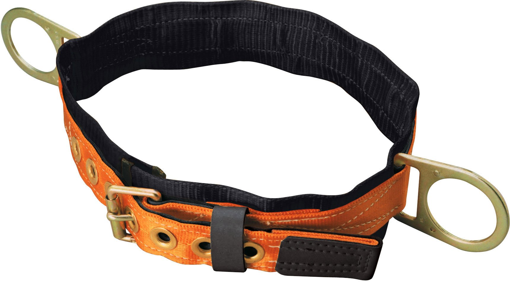 Titan Tongue Buckle Body Belt with Side D-Rings and 3-Inch Back Pad, Large (T3320/LAF) by Honeywell