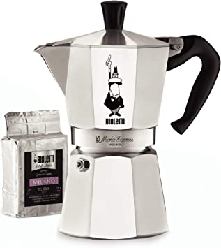 Amazon.com: Bialetti 06651 Moka Express Stovetop Maker with ...