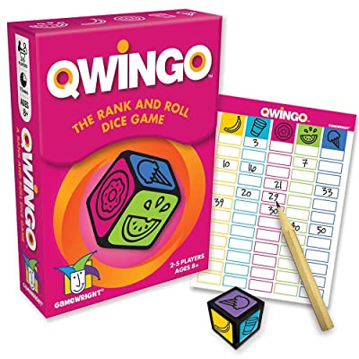 Gamewright Qwingo - The Rank & Roll Dice Game: Toys & Games