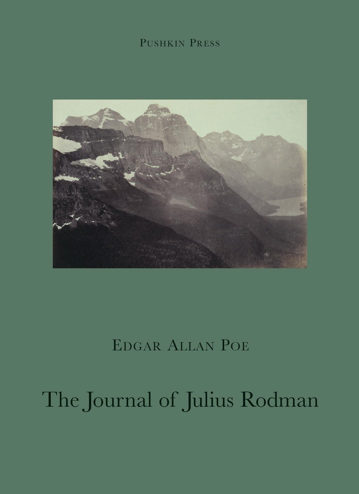 Amazon.com: The Journal of Julius Rodman (Pushkin Collection)  (9781901285956): Poe, Edgar Allan, David, Michael: Books