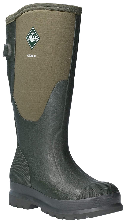 Muck Boot Womens Chore Adjustable Tall Wellington Boots